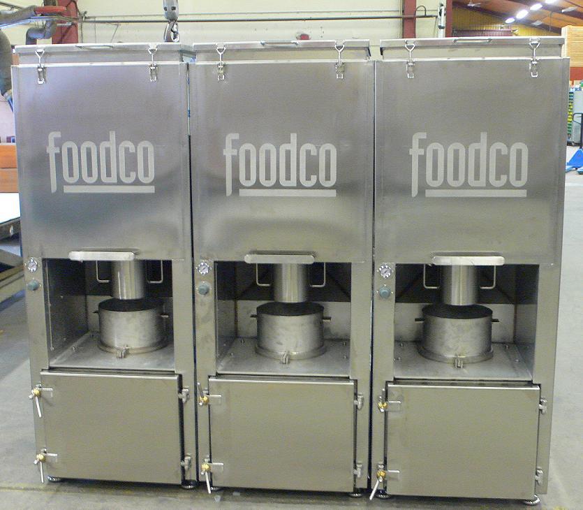 Foodco Global Machinery - Smoking Plant