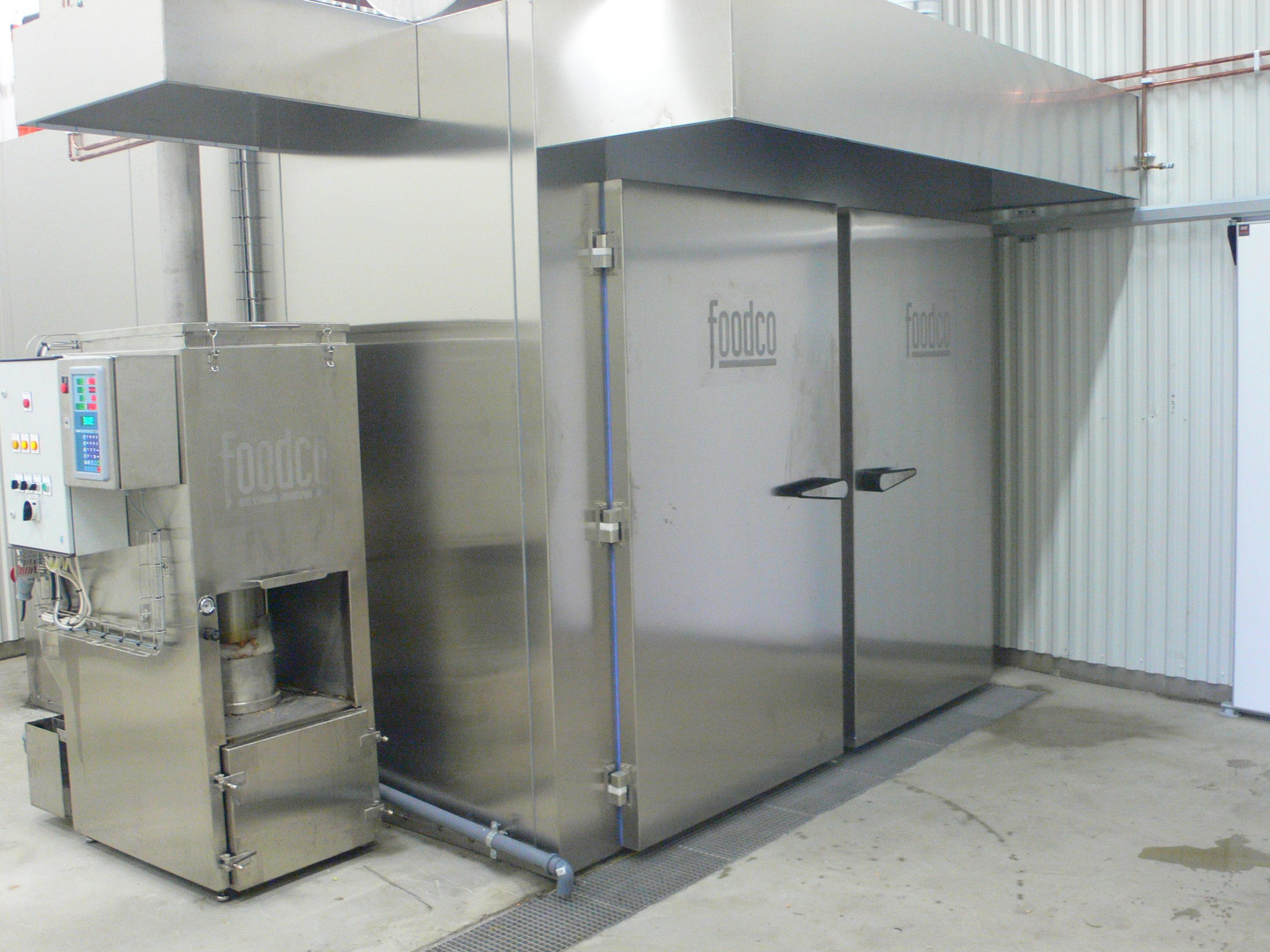 Karlshamn hot smoking - Foodco Global Machinery
